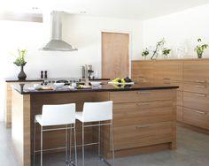 20 Best Cuisines modernes images | Modern kitchens, Kitchen armoire ...
