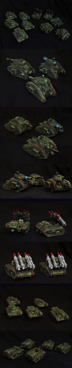 Imperial Guard tanks