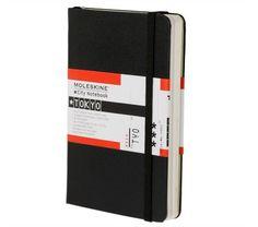 My Tokyo Moleskine City Notebook Tokyo. My first!