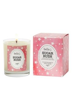 Sugar Rush Bella J Candle | Sugar Rush is a classic French vanilla scent with hints of pure white sugar and undertones of warm caramel.