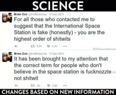 A scientist changes his opinion when presented with new evidence