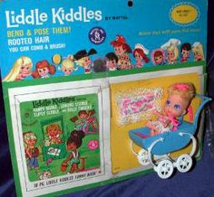 Baby Liddle Kiddle - Sears Exclusive Kiddle from 1968