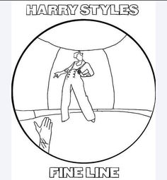 Outline Drawings, Anime Drawings Sketches, Easy Drawings, Harry Styles Dibujo, Harry Styles Drawing, One Direction Drawings, One Direction Art, Small Canvas Art, Mini Canvas Art