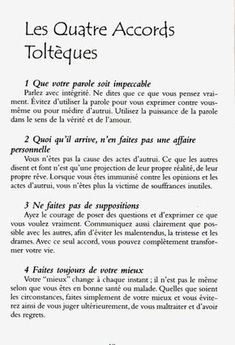 Les quatre accords toltèques - Don Miguel Ruiz - Vosges-passion Positive Mind, Positive Attitude, Positive Thoughts, Positive Vibes, Reiki, Miracle Morning, Burn Out, Quote Citation, Motivation