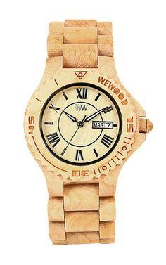 ROMAN BEIGE | WeWOOD Wooden Watches - The Original Wood Watch