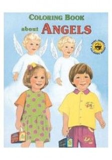 SJ ANGELS COLOURING: Christian children's activity book teaching children about Angels and the party the play in our lives.