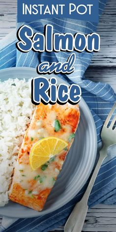 Instant Pot Salmon And Rice | Pressure Cooker Salmon With Rice | Slow Cooker Salmon And Rice | Easy Salmon And Rice Recipe | Crock Pot Salmon & Rice | One Pot Salmon And Rice | How To Make Salmon With Rice | Homemade Salmon And Rice | Instapot Salmon #salmon #healthy #protein #onepootmeal #dinner #instantpot #corriecooks