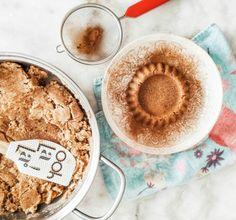 Χαλβάς σιμιγδαλένιος χωρίς ζάχαρη Baking Ingredients, Cookie Dough, Tasty, Sweets, Sugar, Cookies, Healthy, Recipes, Food