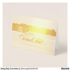 Sting Ray Corvette Foil Card