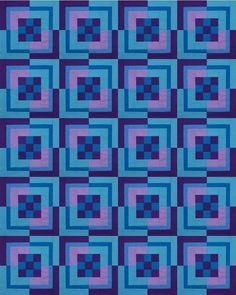 Pictures of Nine Patch Bento Box Quilts: An All-Solids Quilt by Misha Fabric Crafts, Sewing Crafts, Sewing Projects, Sewing Ideas, Easy Quilt Patterns, Pattern Blocks, Scrappy Quilts, Easy Quilts, Quilting Board