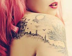 Sharklady: Tatueringar - Nouw