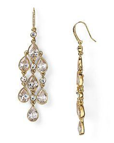 ABS by Allen Schwartz High Drama Chandelier Earrings - Jewelry & Accessories - Bloomingdale's