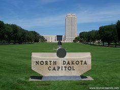Bismarck North Dakota State Capitol Building