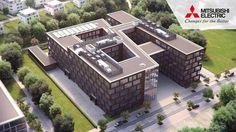 The World of Mitsubishi Electric - Filmproduktion zum neuen Standort in Ratingen