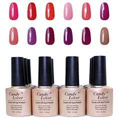 Candy Lover Brand 12 pcs/Lot Nail Gel Polish Nail Lacquer 10ml UV Gel Soak Off Nail Polish ** Find out more about the great product at the image link.