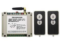 DC12V 24V 36V 48V 10A 2CH RF Wireless Remote Control Switch System 2 transmitter and 1 receiver universal gate remote control #Affiliate