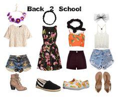 """""""Bach-2-School Set"""" by cxjordancx on Polyvore featuring H&M, Morgan, maurices, TOMS, Wet Seal, River Island, Keds, Runwaydreamz, Billabong and NLY Accessories"""