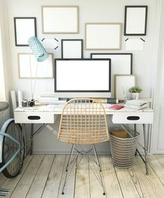 Do you have a spare bedroom or empty nook in your home? Create your dream home office out of your spare space with these tips.