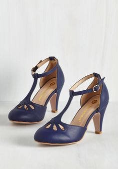 1ef0b3b7642 Aisle Come Running Heel in Navy. As the proud Maid of Honor on your besties