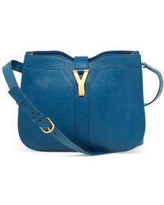 Yves Saint Laurent 'Chyc' Leather Shoulder Bag