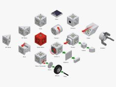 Build Your Own Robots and Quadcopters With These Ingenious Bricks   Gadget Lab   WIRED