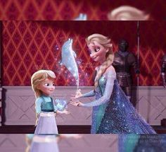 Elsa's daughter
