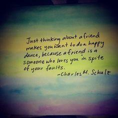 Charles M. Schulz quote  Valentine's Day Card
