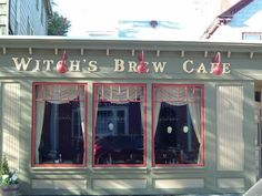 Witches Brew Cafe, Salem, MA