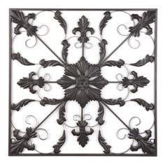 Fleur-de-lis Medallion Wall Plaque | Kirkland's