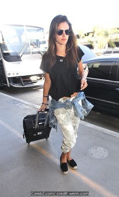 Alessandra Ambrosio At Los Angeles International Airport (LAX) http://icelebz.com/events/alessandra_ambrosio_at_los_angeles_international_airport_lax_/photo1.html