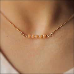 Simple necklace design