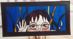 Hello Stained Glass, Night, Artwork, Painting, Work Of Art, Paintings, Stained Glass Windows, Draw, Stained Glass Panels