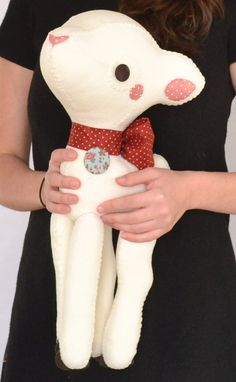 Art Toy My White Deer by MarieChou on Etsy, $140.00
