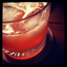 Ward 8 Cocktail: * 2 oz rye whiskey * 1 oz simple syrup * 3/4 oz lemon juice * 1/4 oz grenadine. * Shake with ice and strain into a glass on the rocks.