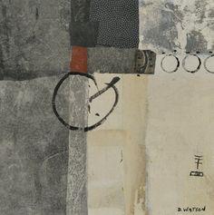 "Enso series 2    10""x10"" by Donna Watson"