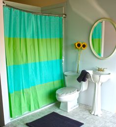 5 Simple Inexpensive Ways To Stage A Small Bathroom For Sale Vintage Shower CurtainsColorful