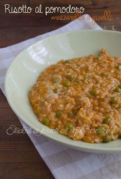 Mozzarella, Rice Recipes, Healthy Recipes, Tasty, Yummy Food, Rice Dishes, Italian Recipes, Food Videos, Macaroni And Cheese