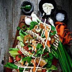 Middag - Recept & inspiration för en lyckad middag - Mitt kök Quorn, Guacamole, Asparagus, Fisher, Tacos, Vegan, Vegetables, Food, Inspiration
