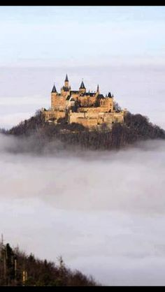 Floating castle in Germany