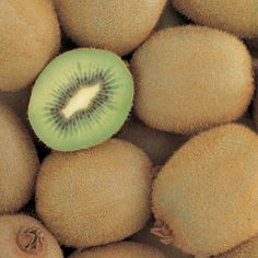 Kiwifruit is a rich source of vitamin C.