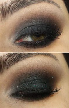 Great smokey eye for a brown or black based out fit #PromPlace #EyeMakeUp
