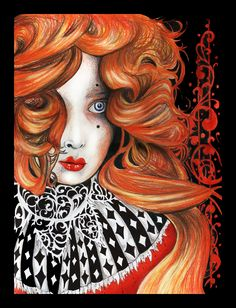 Ma Belle - The Queen of Hearts by ~violet-angel07 on deviantART