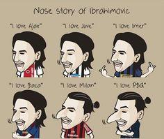 Football joke, Zlatan Ibrahimovic