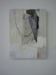 Ron van der Werf by lovingjulia - Ceramic Art Painting Collage, Oil Painting Abstract, Abstract Canvas, Abstract Painters, Splatter Art, Neutral Art, Irish Art, Art Techniques, Painting Inspiration