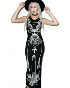 Killstar Bast Maxi Dress | Dolls Kill