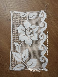 Filet Crochet, Crochet Cord, Crochet Shawl, Crotchet, Crochet Lace, Crochet Stitches, Crochet Curtains, Christmas Stockings, Crochet Flowers