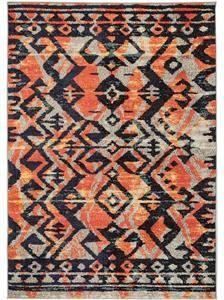 Orange 3 x 7 Tangier Rug 7 And 7, Orange, Bohemian Rug, Area Rugs, Tangier, Vintage, Design, Home Decor, Rugs
