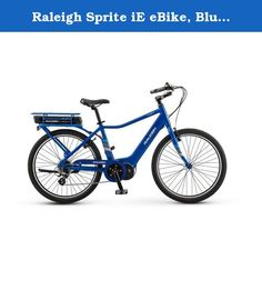 00af1910de9 Raleigh Sprite iE eBike, Blue, Medium 2017. The Raleigh Sprite iE is the