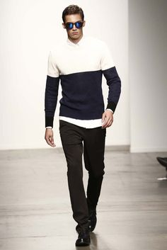 "Ovadia & Sons NYFW Spring 2015  I did his ""male grooming"" for this show :)"