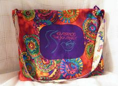 "Large Hobo Bag - ""Embrace the Journey"" by MASBags, $35.00 USD"